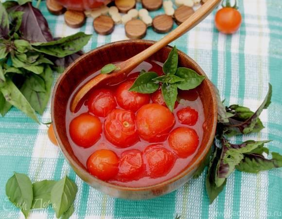 Как мариновать помидоры черри на зиму