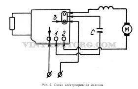 Схема подключения электродрели