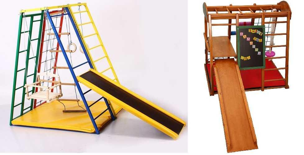 Спортивный детский комплекс для дома своими руками. поэтапное создание детского спортивного уголка своими руками на конкретном примере