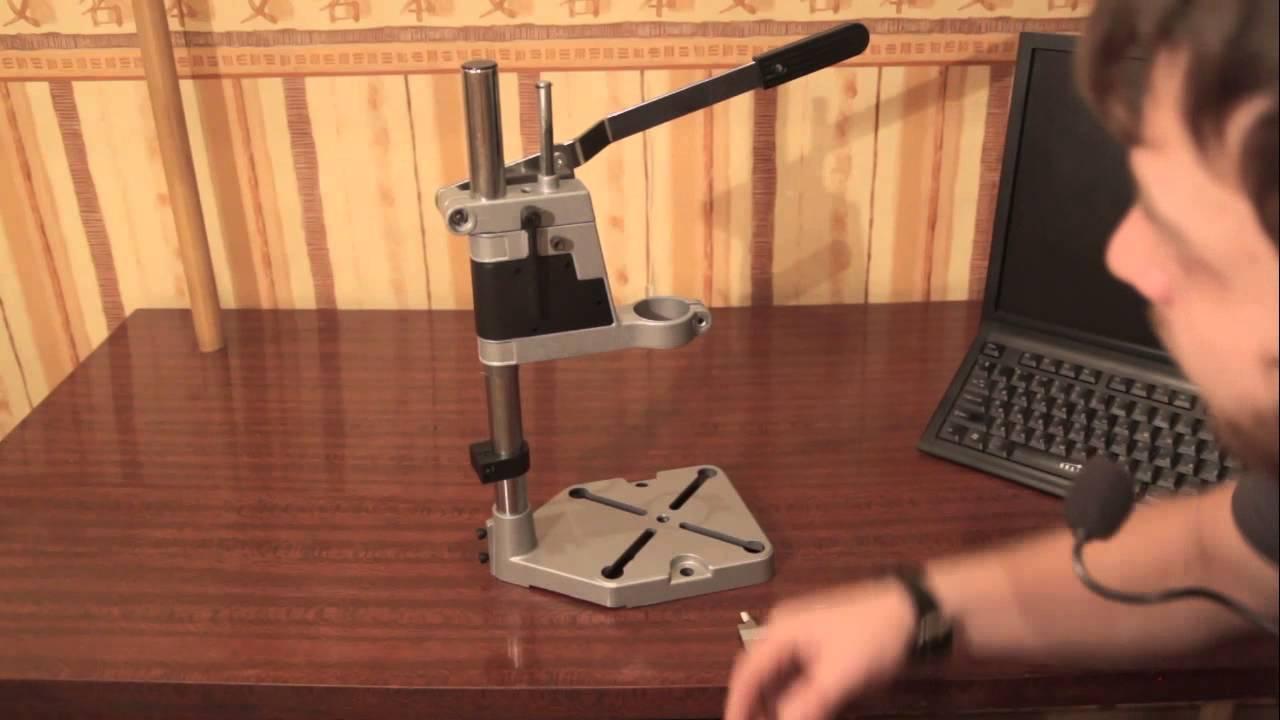 Что такое направляющая для дрели, как сделать вертикальный держатель