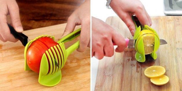 Выбираем удобный и практичный держатель для резки лука