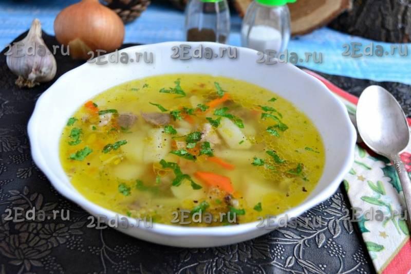 Как приготовить рисовый суп с мясом