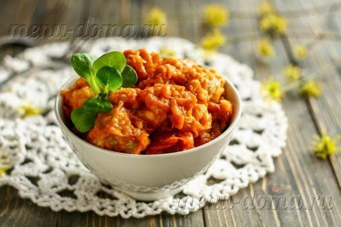 Минтай под овощным маринадом из моркови и лука