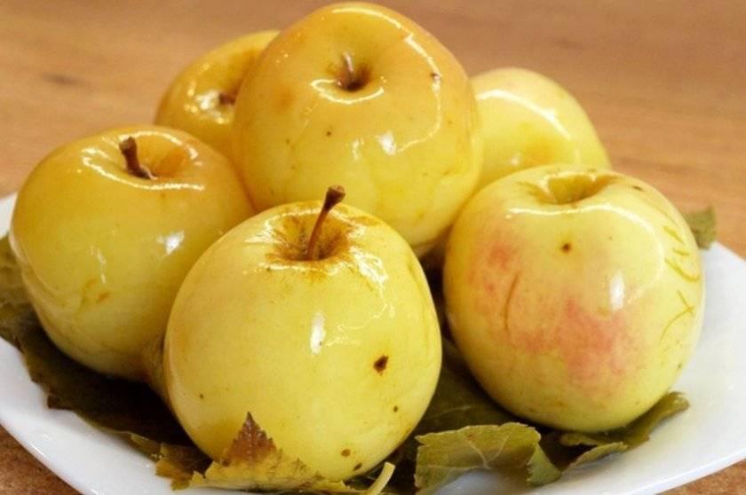 Моченые яблоки на зиму — без стерилизации