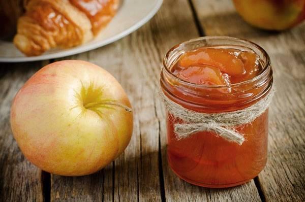 Простые пошаговые рецепты с фото янтарного яблочного варенья дольками