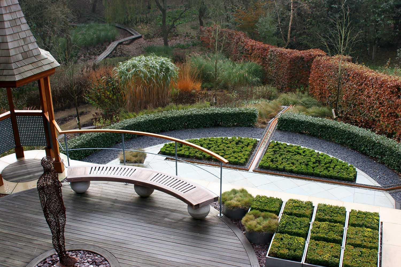 Ель в ландшафтном дизайне – 10 вариантов красивых композиций