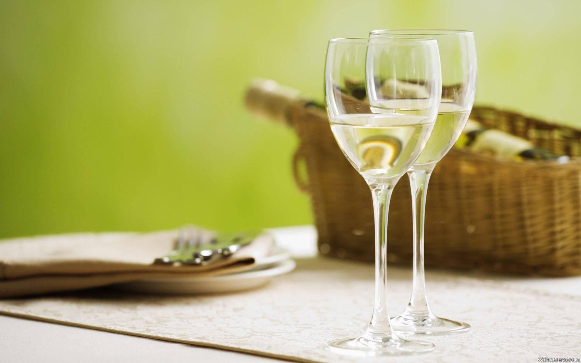 Вкусное шампанское из вина