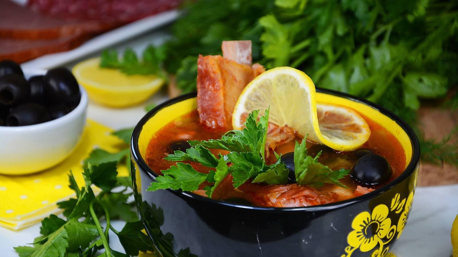 Суп-солянка — рецепты как вкусно приготовить солянку дома