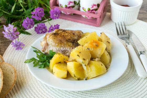 Рецепт овощей, запеченных в духовке