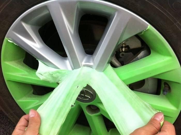 Жидкая резина для автомобиля — плюсы и минусы
