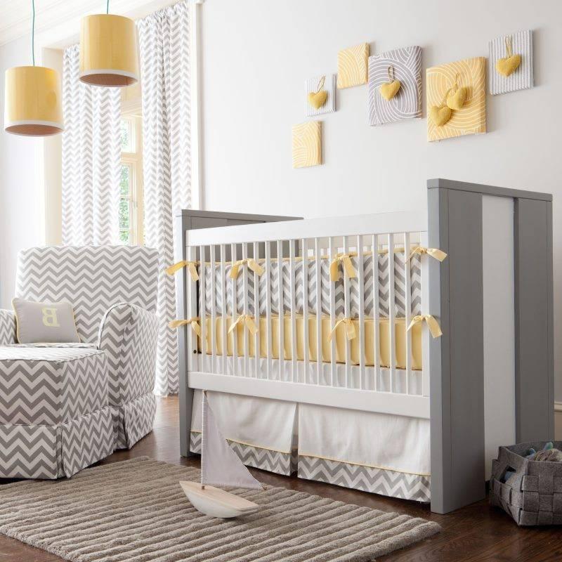 Каким должен быть дизайн детской комнаты для новорожденного