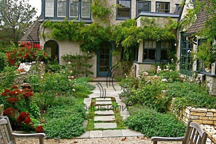 Коттеджный сад в английском стиле – 9 принципов создания