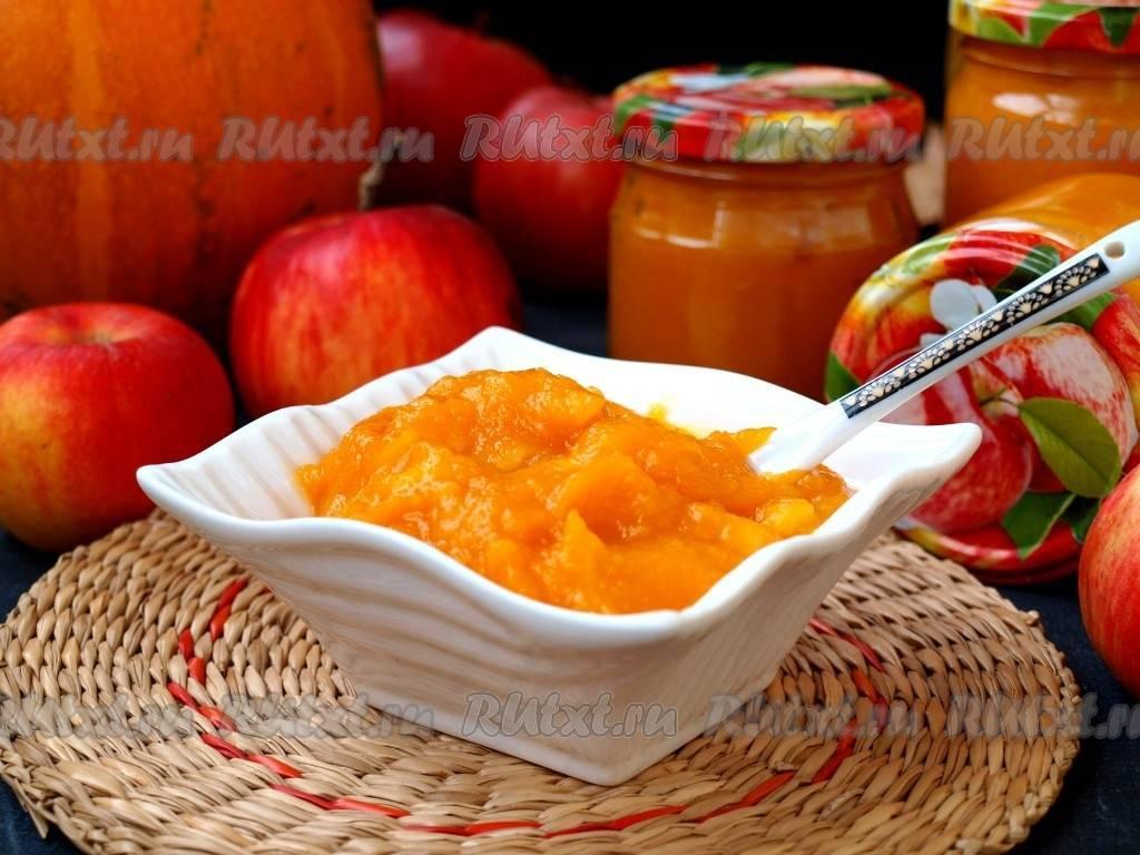 Пюре из тыквы и яблок – полезная вкуснятина! рецепты разного пюре из яблок и тыквы: диетического, десертного, детского, на зиму