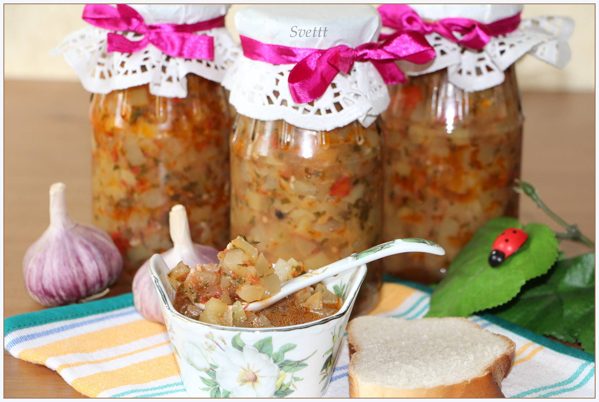 Варенье из патиссонов и кабачков «А-ля ананас»