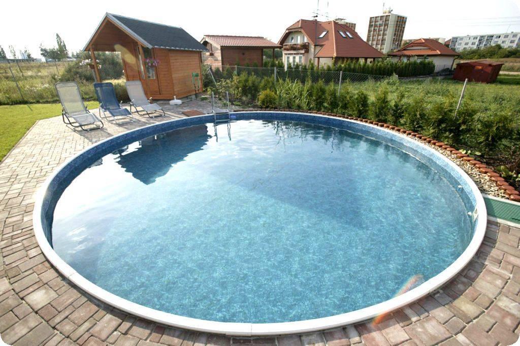 Как правильно установить каркасный бассейн на даче своими руками: подробная инструкция
