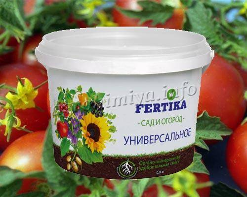 Удобрение фертика для картофеля, цветов и газона