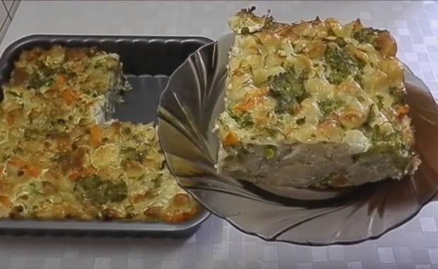 Рецепт приготовления вкусной рыбной запеканки