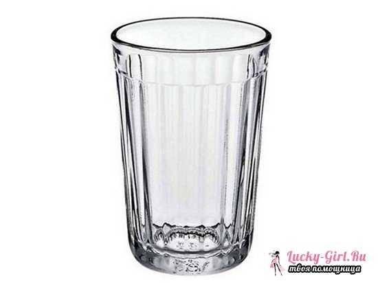 Сколько грамм в стакане