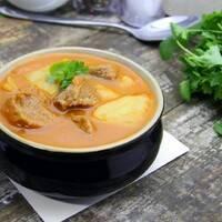 Какой суп с рисом и картошкой приготовить?