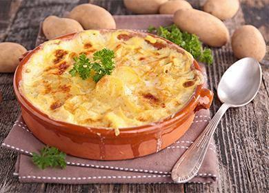 Божественно аппетитное блюдо запеканка из картофеля в духовке