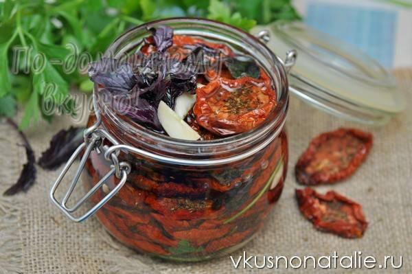 Сушеные вяленые помидоры на зиму