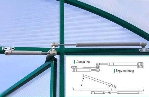 Как сделать термопривод для теплицы своими руками