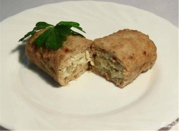 Зразы с сыром и грибами – 5 пошаговых рецептов