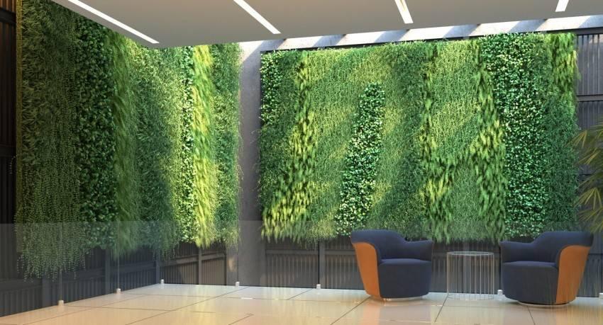 Вертикальное озеленение: освоение новых поверхностей (24 фото)